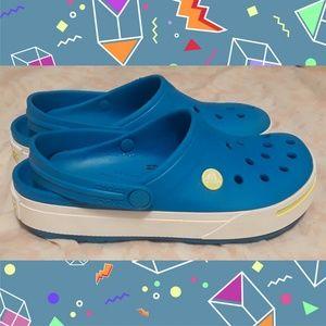 Beautiful blue colored CROCS